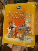 10x Disney Mickey Mouse and the Knights of the Round Table, new.