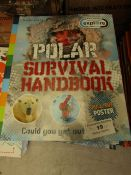 Approx 10x Discovery Explore Survival Handbooks, new.