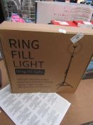 Ring Fill Light Unchecked & Boxed