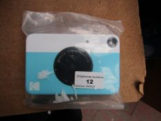 Kodak Printomatic 8mm 3:2 Picture Blue Unchecked & Boxed