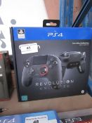 Nacon PS4 Revolution Unlimited controller, unchecked and boxed.