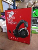 MPOW wireless gaming headset, unchecked and boxed.