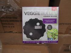 | 20X | VEGGIE BULLET RIBBON BLADES | NEW AND BOXED | NO ONLINE RESALE | SKU - | RRP £10 | TOTAL LOT