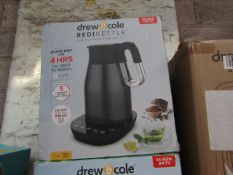 | 5X | DREW AND COLE REDI KETTLE | UNCHECKED AND BOXED | NO ONLINE RESALE | SKU C5060541513587 | RRP