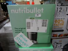 | 6X | NUTRI BULLET 600 SERIES HEALTH BLENDERS | UNCHECKED AND BOXED | NO ONLINE RESALE | SKU |