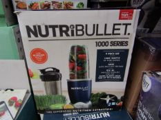 | 3X | NUTRI BULLET 1000 SERIES | REFURBISHED AND BOXED | NO ONLINE RESALE ALLOWED | SKU - | RRP £