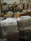 | 6X | PALLETS OF MADE.COM SOFA PARTS, THESE ARE ODD PARTS | please note all items and packaging