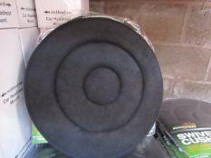 Brookstone - Swivel Car Seat Cushion 40cm Diameter - New & Packaged.