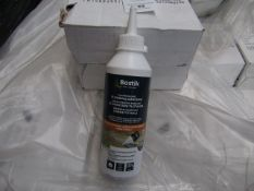 6x Bostik - Floating Laid Flooring Adhesive (250g = 4Msquared) - Unused & Boxed.