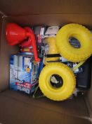 1x BOX OF VARIOUS TOOLS 381 This lot is a Machine Mart product which is raw and completely unchecked