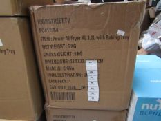 | 1X | 3.2LTR POWER AIR FRYER XL | REFURBISHED AND BOXED | NO ONLINE RESALE ALLOWED | SKU - | RRP £