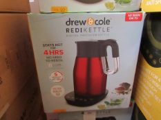 | 1X | 1.7LTR REDI KETTLE IN RED | REFURBISHED AND BOXED | NO ONLINE RESALE ALLOWED | SKU - | RRP £