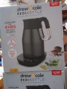 | 1X | 1.7LTR REDI KETTLE IN CHARCOAL | REFURBISHED AND BOXED | NO ONLINE RESALE ALLOWED | SKU - |