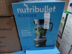| 1X | NUTRI BULLETBLENDER | REFURBISHED AND BOXED | NO ONLINE RESALE ALLOWED | SKU - | RRP £99.