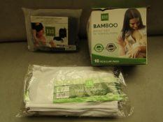 1x Bamboo Factory - Organic Bamboo Sleep Eye Mask - Unused & Packaged. 1x Bamboo Factory -