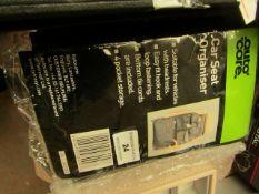 AutoCare - Car Seat Organiser (Black) - Unused & Packaged.