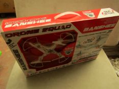 Drone Squad - Banshee 6 Axis Aerocraft Quadcopter Skycontroller - Unchecked & Boxed.