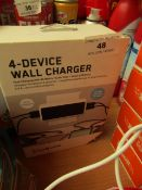 Blueflame - 4-Device Wall Charger - Unchecked & Boxed.