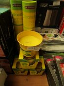 4x Chatsworth - Citronella Candle (Outdoor Uses) - Unused. 2x Chatsworth - Citronella Incense Sticks