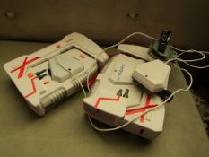 2x Laser X - Laser Tag With Guns - Unpackaged & Unchecked For Working Condition.