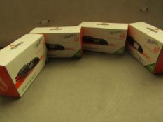 """4x Hotwheels - Collectible Cars """"Arachnorod"""" - Unchecked & Boxed."""