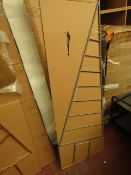 | 1X | COX AND COX GOLDEN DECO TREE | UNCHECKED AND BOXED | RRP CIRCA £75 |
