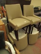 | 1X | COSTCO BAYSIDE 6-PIECE DININD SET | CHAIRS ARE DAMAGED & TABLE HAS CHIPS ON THE SIDE |
