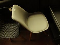 | 1X | MADE.COM THELMA OFFICE CHAIR, GREY | NO DAMAGE IS VISIBLE | RRP £99 |