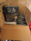 20x Glamour - Wallpaper Adhesive 200g Boxes - All Unused & Boxed.