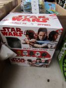 Starwars - Helmet Pencil Toppers (Approx 6 in A Box) - Unused & Boxed.