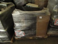 Pallet of approx 15 Items being Computer towers, monitors and possibly More,Please read lot 0 prior