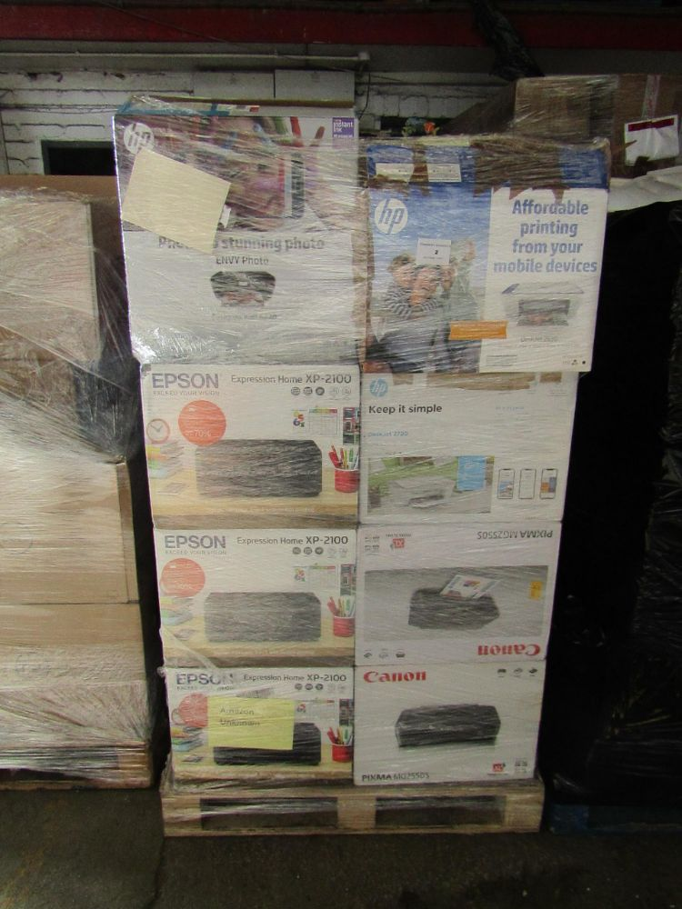 Pallets of Customer returns Tech and Electrical pallets, New ;lower reserve to clear!!!!