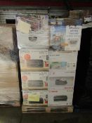 Pallet of approx 40 Canon and HP Printers all unchecked and unworked, Please read lot 0 prior to