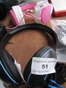 Cyber Acoustics Headphones, Tested Working for Sound Only.