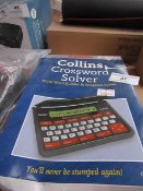 Franklin Collins crossword solver, unchecked and boxed.