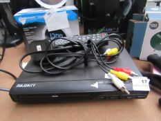 Majority DVD & CD Player Unchecked & Boxed