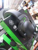 Razer Blackshark V2 X Multi-Platform Wired Esports Headset, Tested Working for Sound but AUX