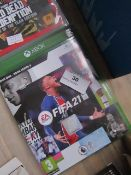XBOX FIFA 21, Untested but Appears to Have Some Scratches on the Disk.