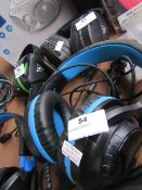 Turtle Beach Gaming Headphones, Untested