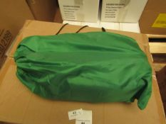 2 x Green Air Sofas, new in carry bag