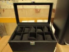 2 x 20 Section Jewellery/Watch Box - Unchecked & Boxed.