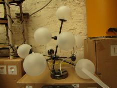 | 1X | MADE.COM GLOBE CHANDELIER | UNCHECKED AND BOXED | RRP £179 |