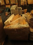 | 4X | PALLETS OF MADE.COM SOFA PARTS, THESE ARE ODD PARTS | please note all items and packaging