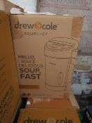 | 4X | DREW AND COLE SOUP CHEF | BOXED AND UNCHECKED | NO ONLINE RESALE | SKU C5060541516809 |
