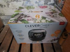 | 1X | DREW & COLE CLEVER CHEF MULTI-COOKER | UNCHECKED & BOXED | NO ONLINE RESALE | SKU