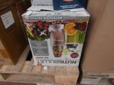 | 1x | NURTIBULLET 900 SERIES | UNCHECKED AND BOXED | NO ONLINE RESALE | SKU C5060191467353 | RRP £