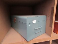 | 1X | MADE.COM DEVAN METAL STORAGE CHEST (ONLY ONE OF THE 2 ARE IN THIS LOT) | UNCHECKED |