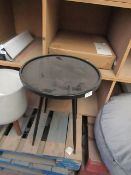 | 1X | COX AND COX INDUSTRIAL METAL SIDE TABLE | NO MAJOR DAMAGE WITH BOX | RRP CIRCA £95 |