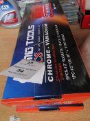 MIG Tools - 10 pcs Chrome Vanadium socket set with handle - New & Boxed.