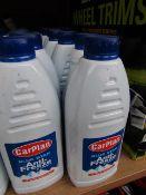 6x Carplan - Bluestar Anti-Freeze & Coolant - 1 Litre Bottles - RRP £2.49 each - Unused & Sealed.